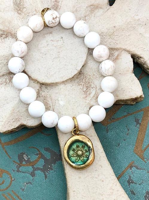 Sunflower River Stone bracelet