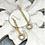 Thumbnail: Links of Gold Dangle earrings