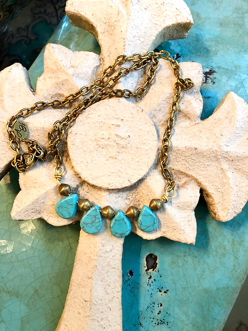 The Sofia Collection: Turquoise Teardrops