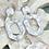 Thumbnail: Geometric Whites earrings