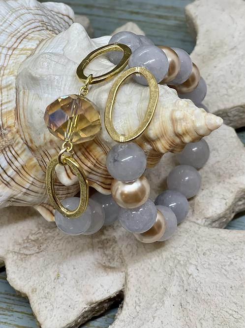 Jade Love Bracelet set