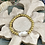 Thumbnail: Biwa Pearl in gold bracelet