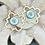 Thumbnail: Bonton Farms Line:  Quatrefoil and Cross earrings