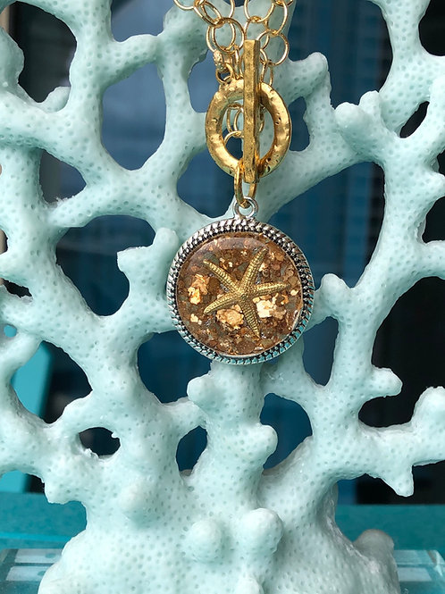 Starfish Glamour necklace