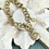 Thumbnail: Golden Star chain bracelet