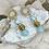 Thumbnail: Larimar Blues Dangle Earrings