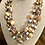 Thumbnail: Agates and Blues triple strand necklace