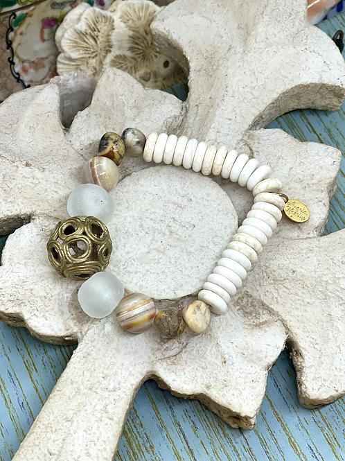 African Earthtones Bracelet
