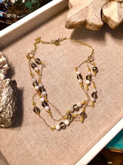 Multi Shimmer necklace