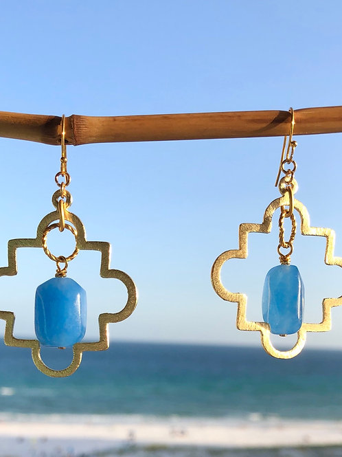 The Cataline Blue earring