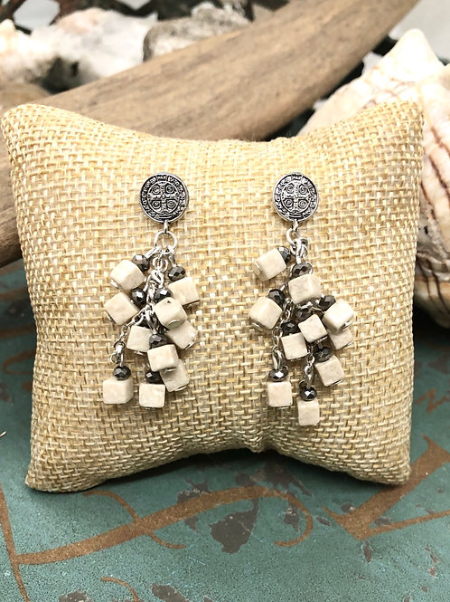 St. Benedict Baubles earrings