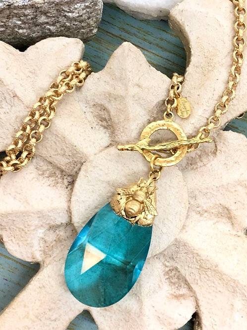 Crystal Bumbles necklace