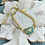 Thumbnail: Bonton Farms Line: Dainty Gold Honey Bee bracelet