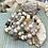 Thumbnail: Memory wire Fancy Lace Agate bracelet