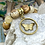 Thumbnail: Bonton Farms Line: Jasper Butterfly Bracelet