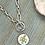 Thumbnail: Bonton Farms Line: Sprig of Hope silver necklace