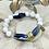 Thumbnail: Riverstone and Sodalite bracelet