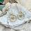 Thumbnail: Golden Dragonfly earrings