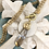 Thumbnail: Bonton Farms Line: Gold Leaf and Bumbles in Amber necklace