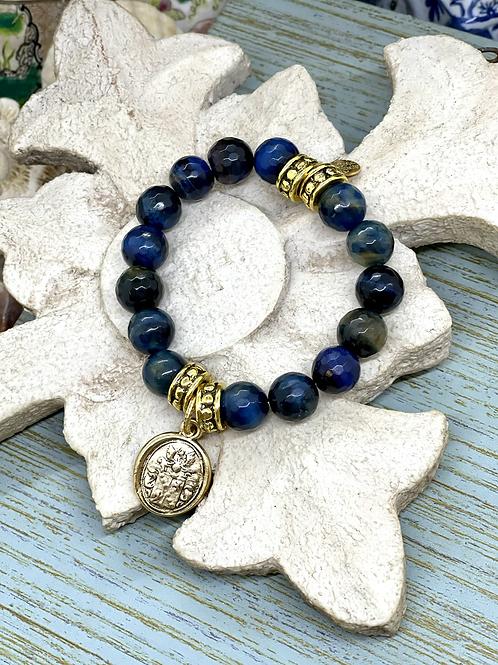 Tiger Eye Blues bracelet