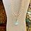 Thumbnail: Teardrop Blues & Crystals Necklace