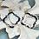 Thumbnail: Quatrefoil Tortoise earrings