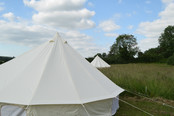 Both our beautiful tents