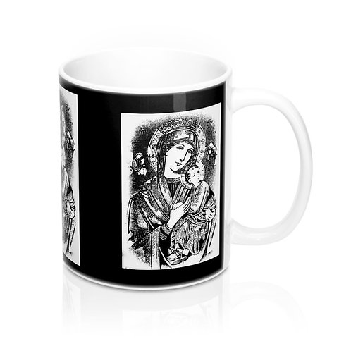 Religious Coffee Mug Our Lady of Perpetual Help Virgin Mary Catholic Decor
