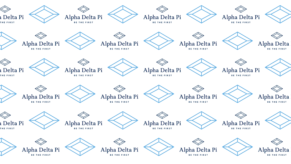 ADPi Logo and Diamond Step and Repeat.pn