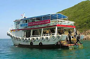 Open water diving in Sai Kung