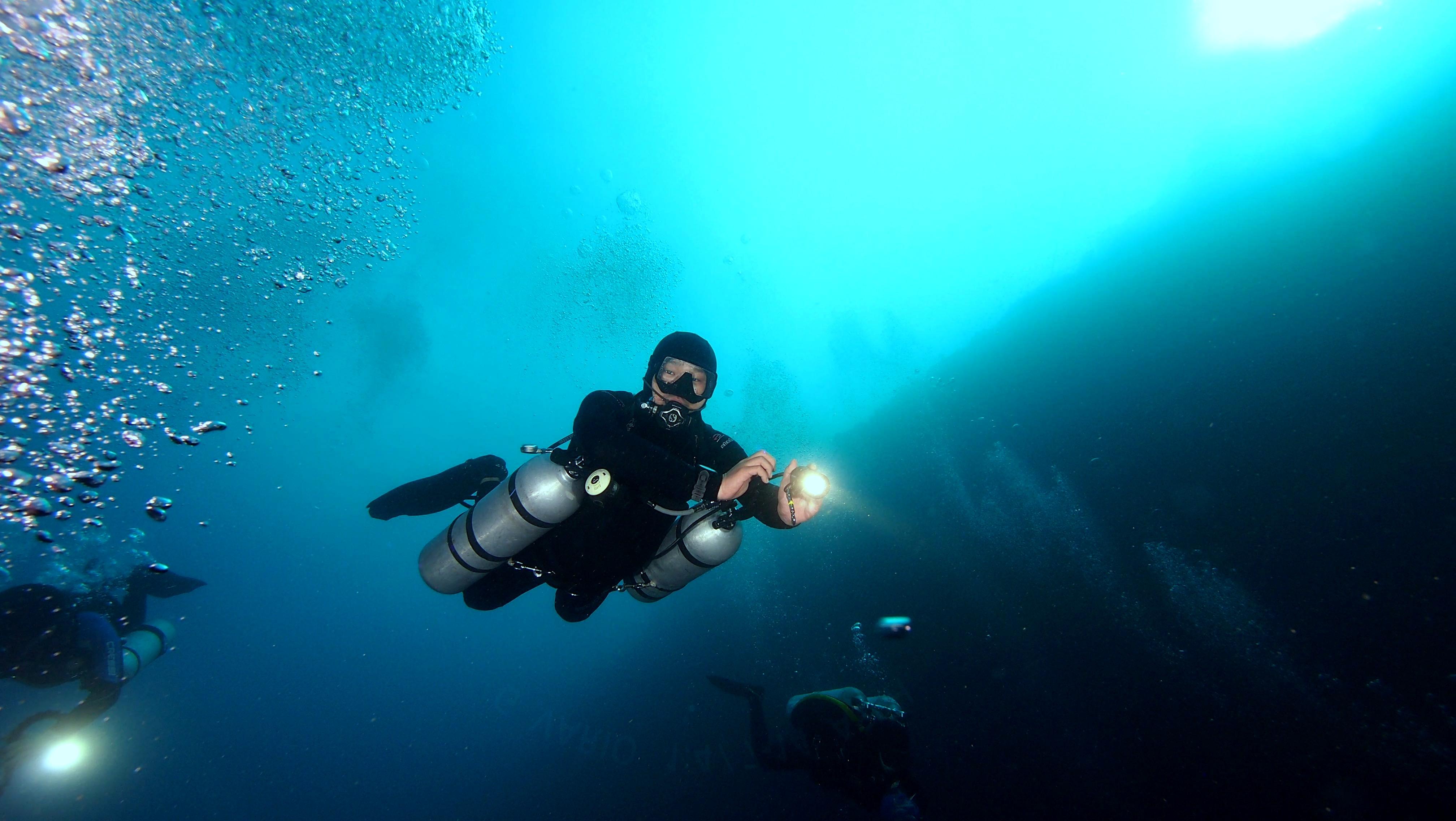 Certified Sidemount Diver