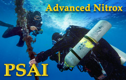 PSAI 進階富氧 - PSAI Advanced Nitrox Technical Diving Course - PSAI's first technical scuba certification level.