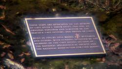 Sheck Exley Memorial Plaque