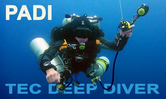 PADI Tec Deep Diver