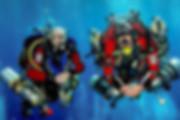 Trimix diving