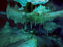 Underwater underground...