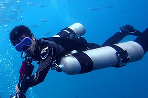PADI Specialty Course: PADI Sidemount Diver Course