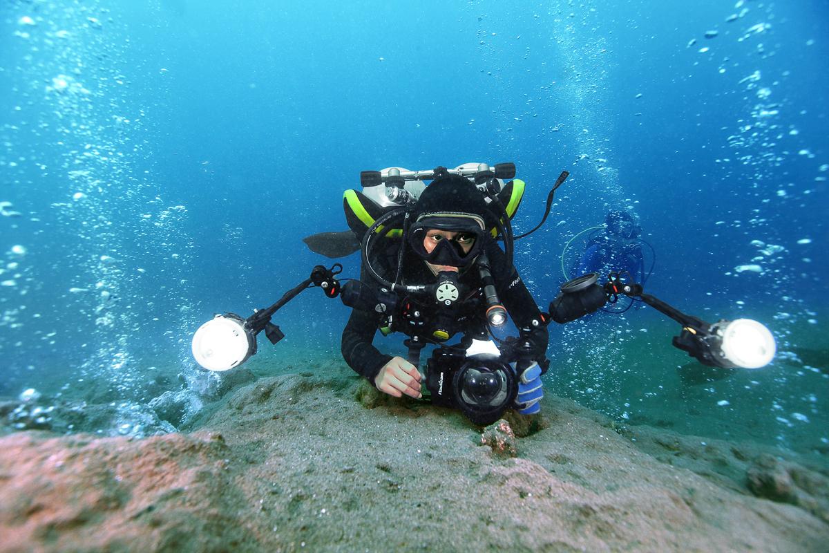 Scuba Diver with Camera