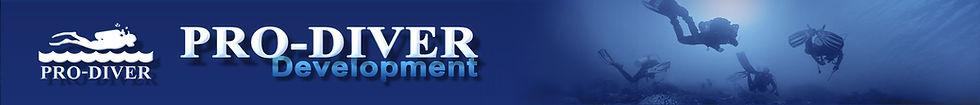 Pro-Diver Development - Website Banner