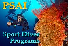 PSAI Recreational (Sport) Diving Courses