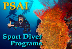 PSAI Recreational (Sport) Diving Courses