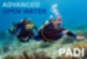 Navigation dive in PADI Advanced Open Water course includes five dives in different specialty areas: Underwater Navigation and Deep dive are the two core dives.