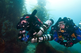 PADI Trimix Courses - two levels of Trimix certifications.