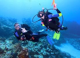 PADI 水肺潛水員- PADI Scuba Diver certification is a pre-entry level certification.