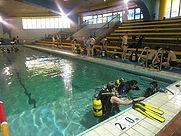Scuba session at Chi Fu Fa Yuen swimming pool.