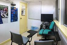 Pro-Diver's small classroom