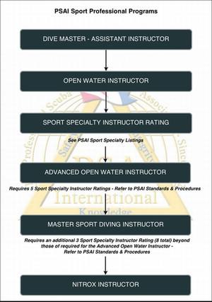 PSAI Recreational Instructor Flowchart