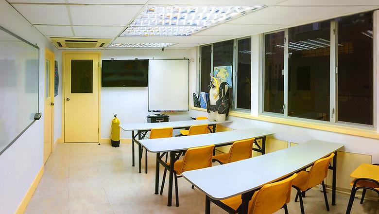 Pro-Diver Development Classrooms, Sheung Wan, HK