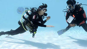 PADI Referral scuba course starts you towards open water certification in Hong Kong.