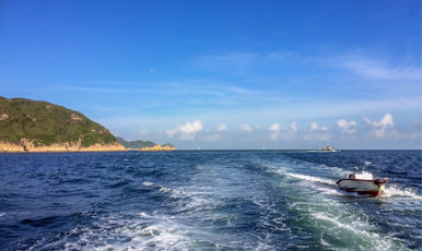 Sai Kung - the scene for most scuba diving in Hong Kong.